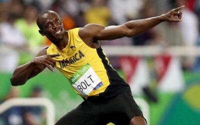 Usain Bolt en chiropractie