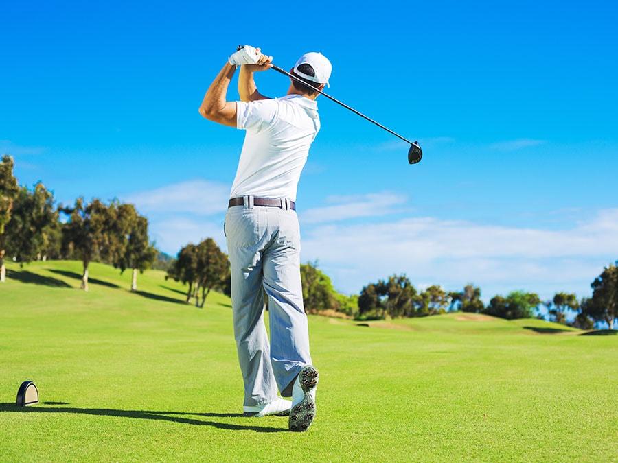 Krijgt u rugpijn tijdens het golfen?