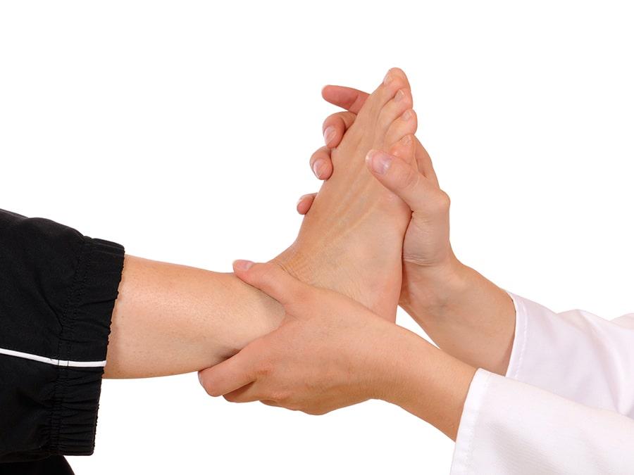 Chiropractor voor voeten